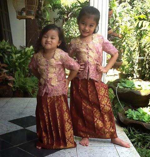 baju kebaya modern anak-anak