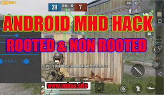 PUBG MOBILE Free Android Hack v0.18.0 | MHD - V6.27 | No Root & Non Root