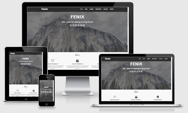 Download Template Fenix Premium Gratis