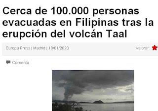 Tremendo... Como tremendo es lo del volcán en filipinas; 5