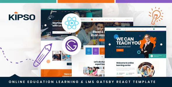 Best Online Education Learning & LMS Template