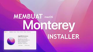 cara membuat installer macos monterey
