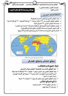 احدث مذكرة دراسات للصف الثاني الاعدادي الترم الاول 2020 للاستاذ اشرف شيلابي
