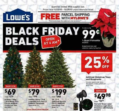 Lowe's Black Friday 2017 Ad