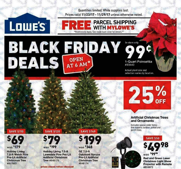Lowe's Black Friday 2017 Ad