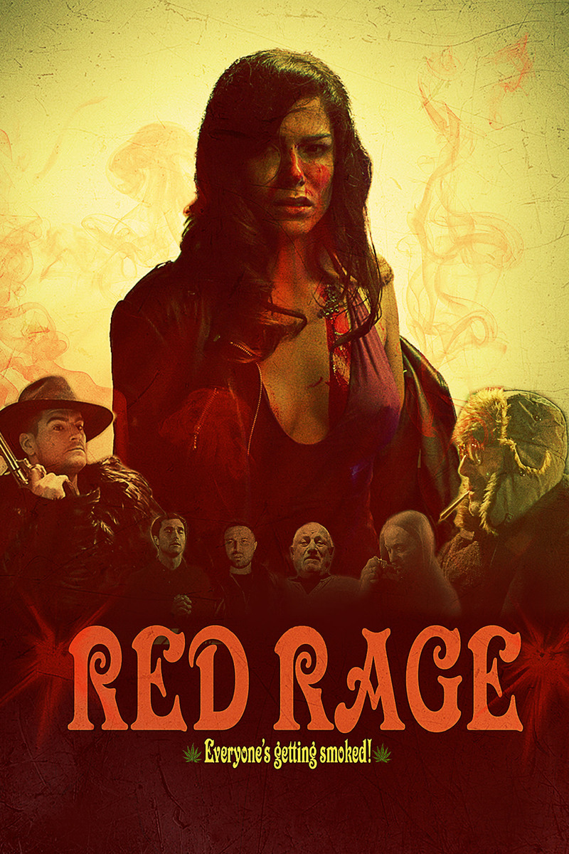 red rage poster