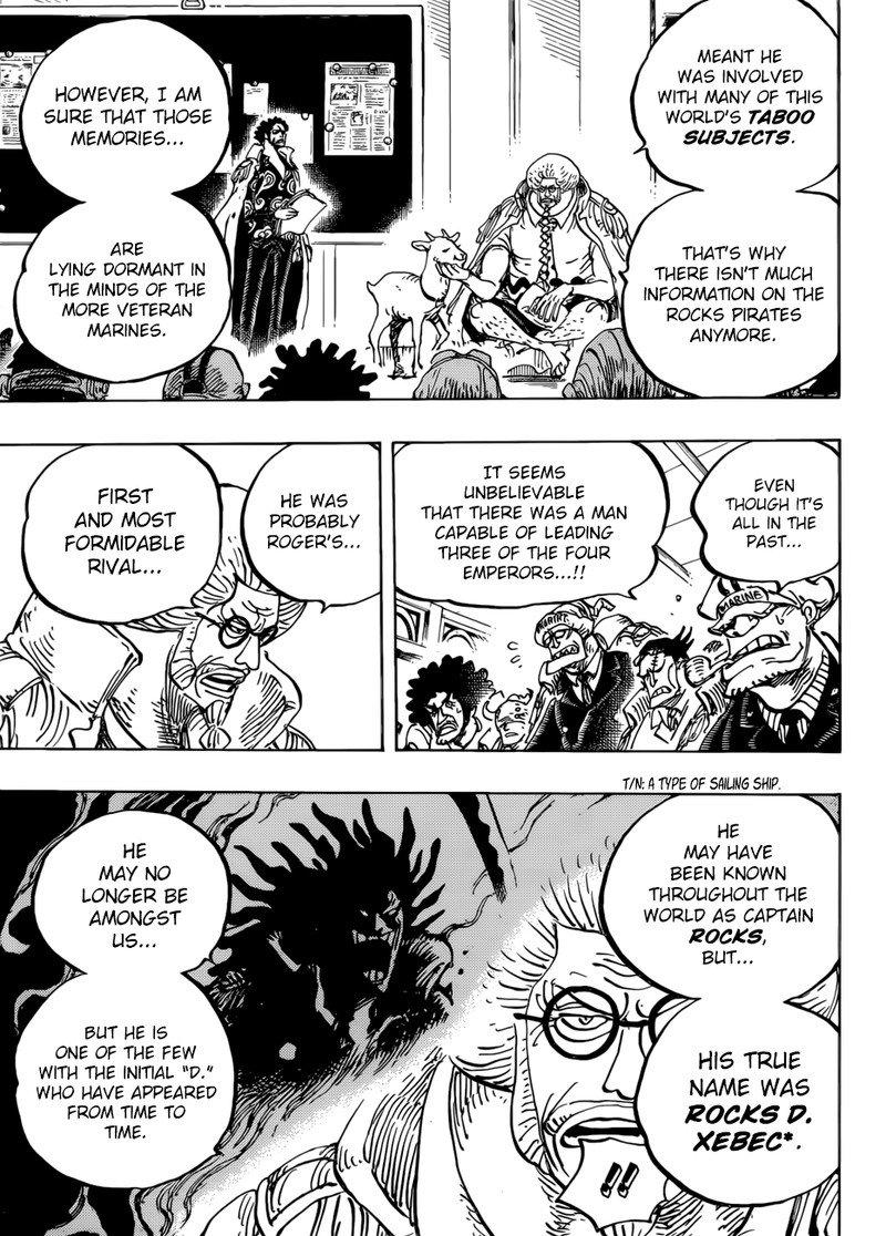 One Piece Manga Chapter 957 - Image 011