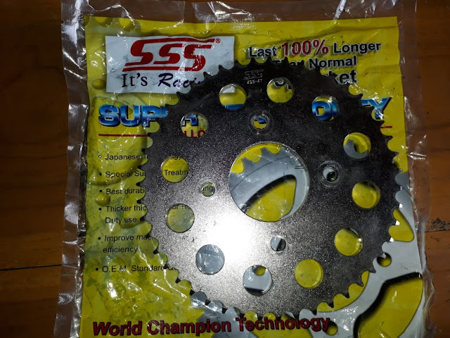 Gear Set CB150R Ukuran 428 15-47