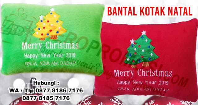 produksi aneka Boneka, Bantal Souvenir Natal, bantal Christmas Souvenir, Souvenir Kado Natal Bantal Sofa