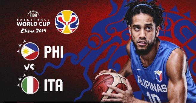 LIVE STREAM: Philippines vs Italy FIBA World Cup 2019