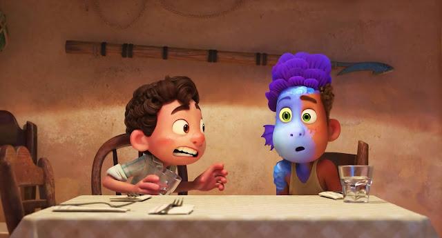 Luca Sea Monster Screencap
