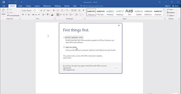 Tải Word 2016 - Phần mềm chỉnh sửa, soạn thảo văn bản trên máy tính e
