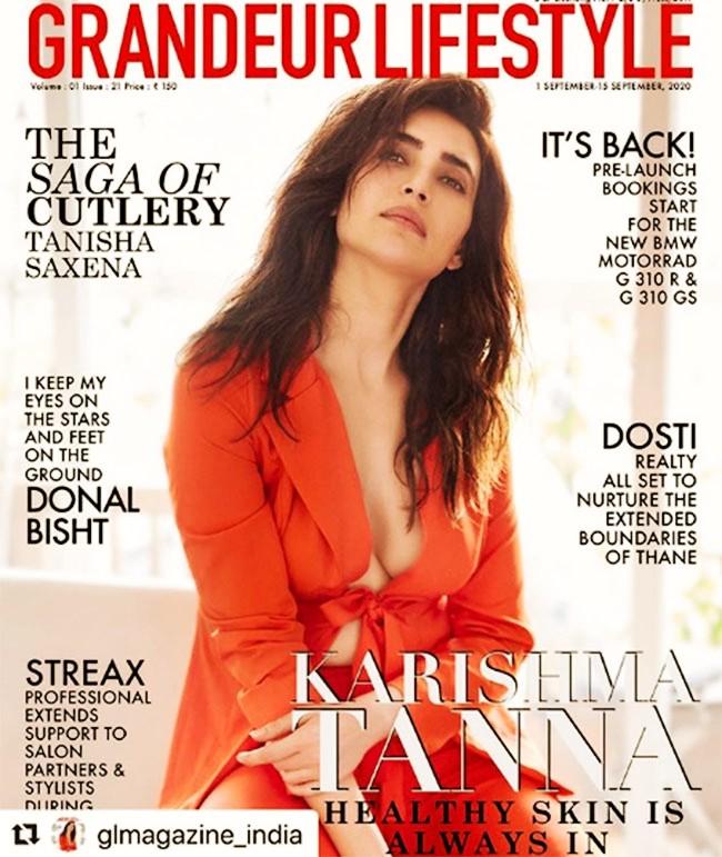 Pic Talk of the day: Karishma Tanna Sultry Pose Raises Heat?