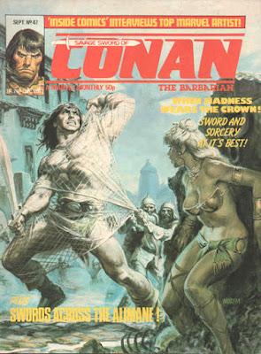 Savage Sword of Conan #47, Marvel UK