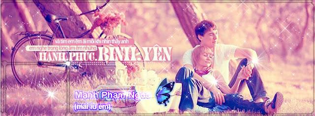 8 PSD Ảnh Bìa FB Tình Yêu Tâm Trang