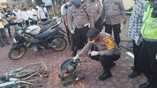 Baru Menjabat Kapolres, AKBP Josua Tampubolon SH. MH Berhasil Kasus Kriminal di Samosir