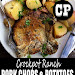 Crockpot Ranch Pork Chops and Potatoes