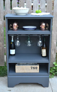 Make A Bar From A Dresser