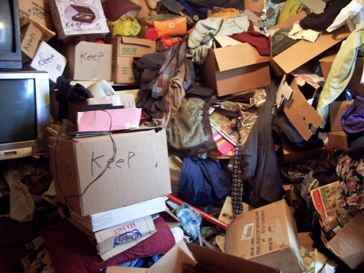 The war on clutter