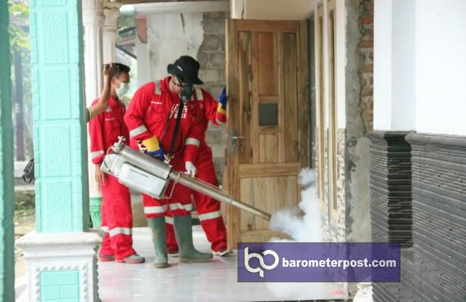 Peduli Cegah Demam Berdarah ,900 Rumah Fogging PMI Kabupaten Jember