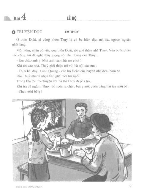 Trang 10 sach Sách Giáo Khoa Giáo Dục Công Dân Lớp 6