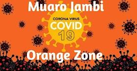 Muaro Jambi Zona Orange, Sekernan dan Jaluko penularan Covid Tertinggi