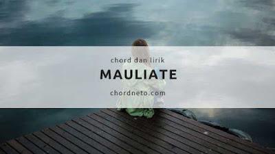 Chord Lagu Mauliate dari D - Dorman Manik