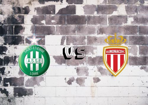 Saint-Étienne vs AS Monaco  Resumen