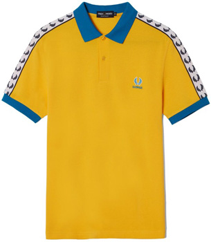 camiseta polo Suecia Eurocopa 2016 Fred Perry