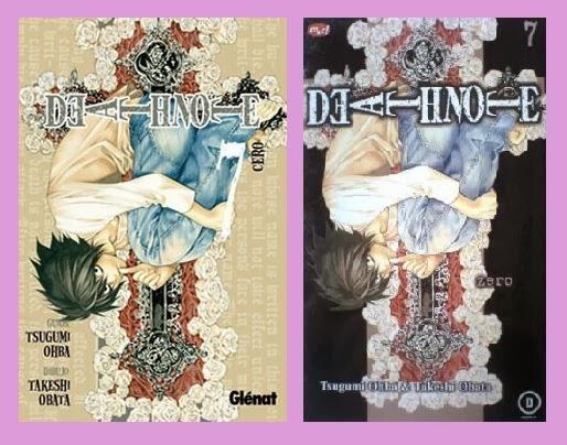 Portadas del cómic Death note, tomo 7, de Tsugumi Ōba & Takeshi Obata