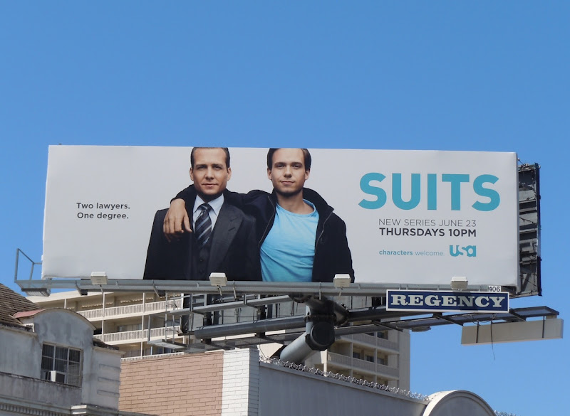 Suits USA TV billboard