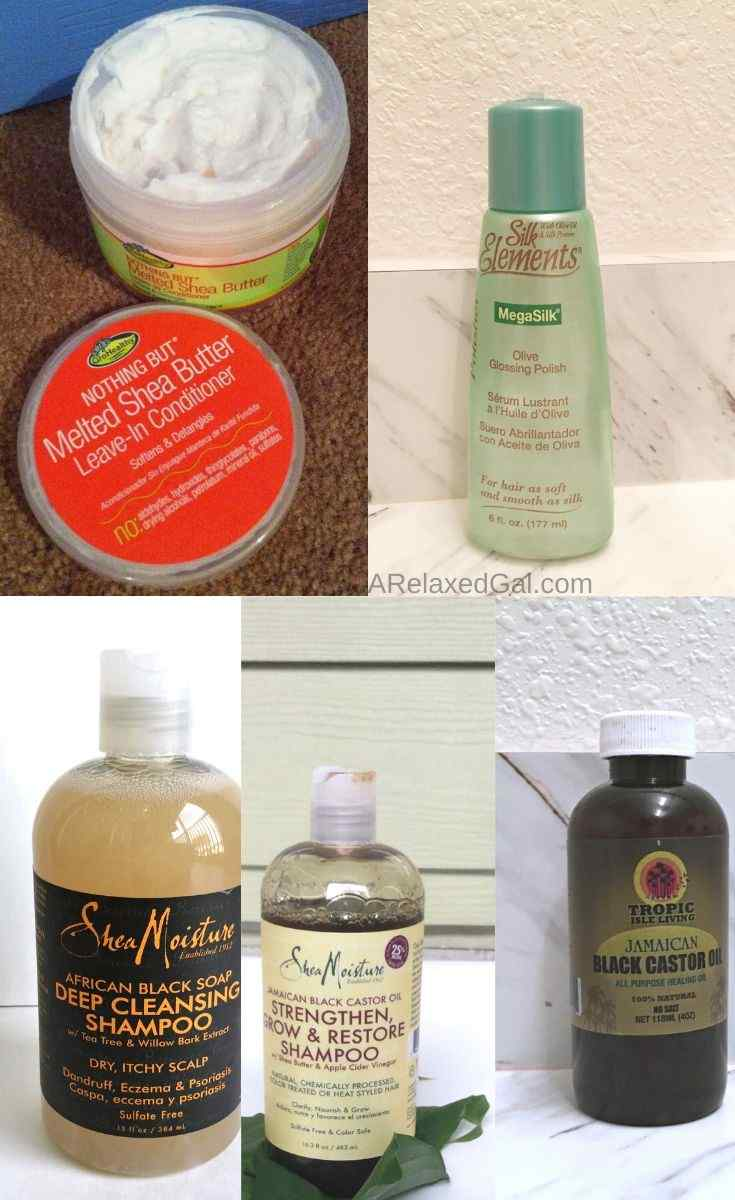 Post Christmas Relaxed Hair Product Haul | A Relaxed Gal