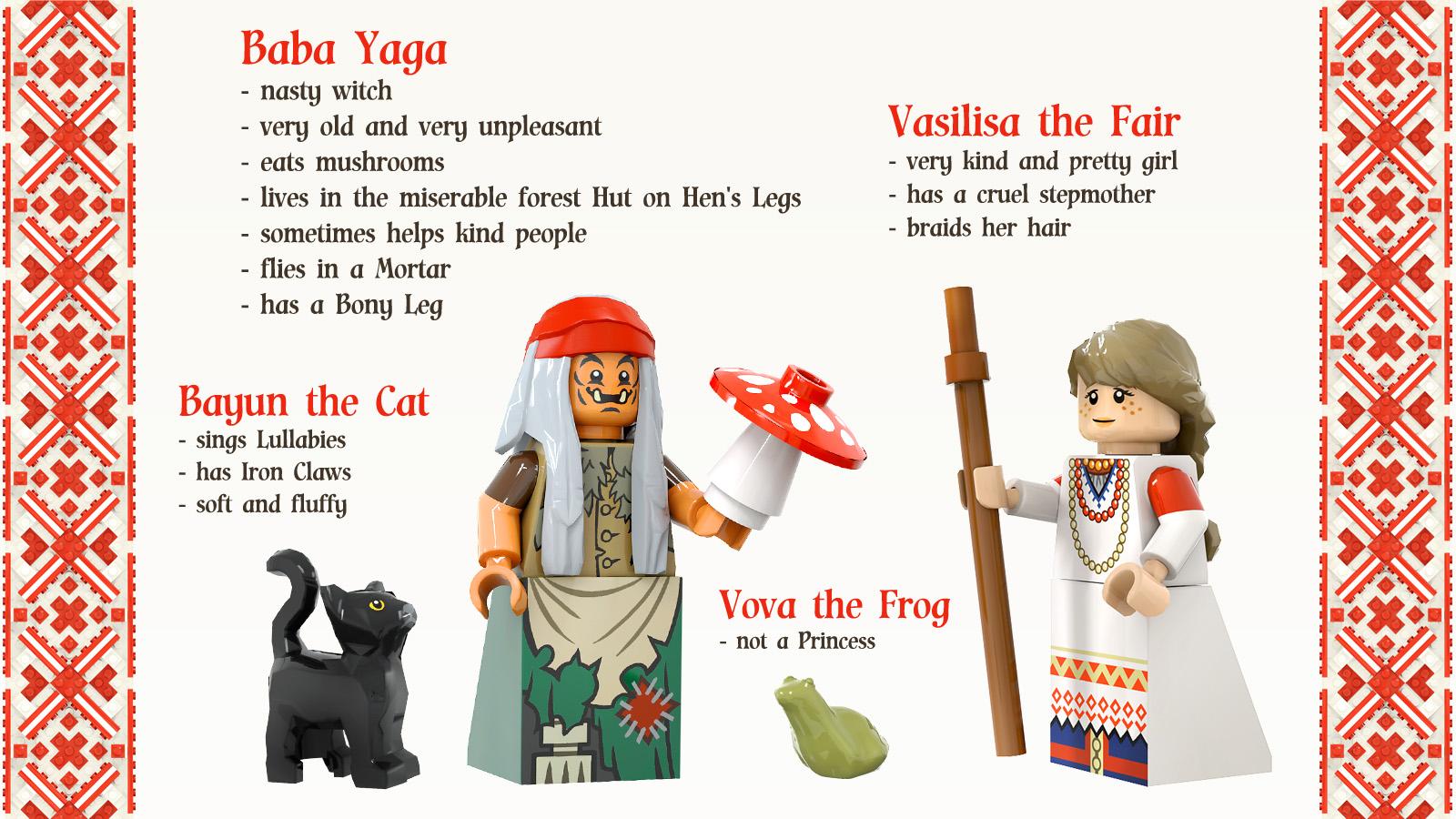 レゴアイデアで『バーバ・ヤーガ』が製品化レビュー進出!2021年第1回1万サポート獲得デザイン紹介