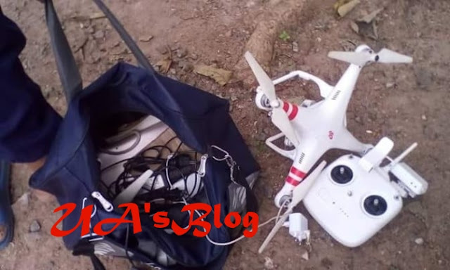 See The Drone Reportedly Used In Monitoring APC Chieftain's House In Abeokuta
