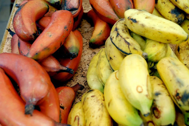 gastronomie tahiti, gastronomie polynesië, bakbananen