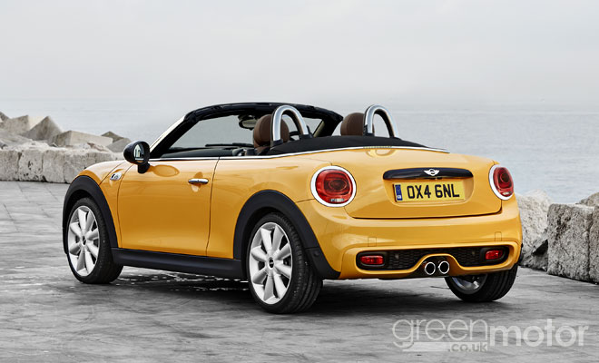 2015 Mini Roadster rendering - rear
