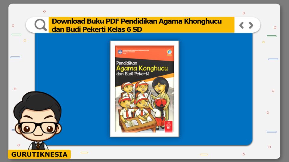 download buku pdf pendidikan agama khonghucu dan budi pekerti kelas 6 sd