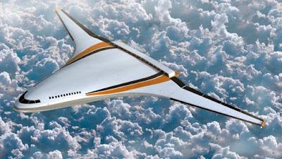 Mẫu concept máy bay điện của boeing cực kỳ ấn tượng