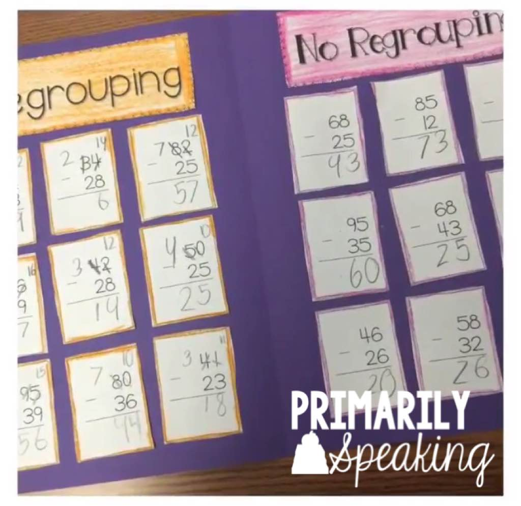 Hands On Addition Amp Subtraction W Regrouping