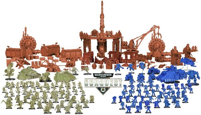 Warhammer Conquest.... The Entire Collection and Price Comparison