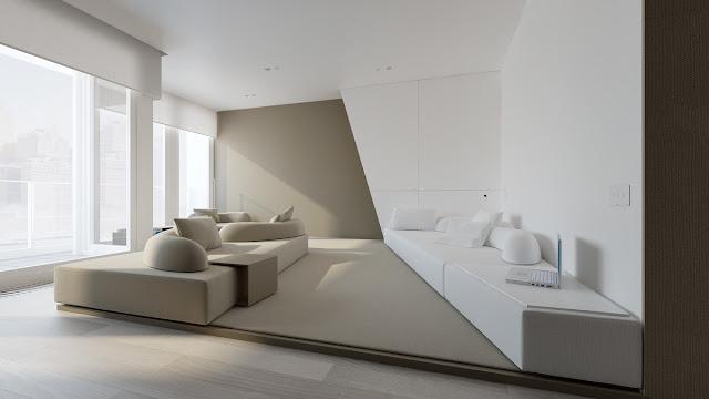 แบบห้องนอน Modern Minimalist
