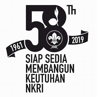 log hut pramuka ke 58 tahun 2019