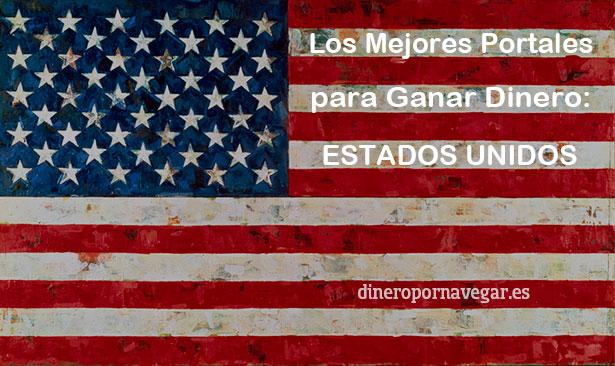 Los 30 Mejores Portales para Ganar Dinero en Estados Unidos para hispanohablantes