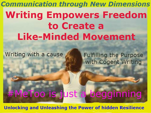 Building action through Writing, a sure way for gaining a mass momentum of Successes in life