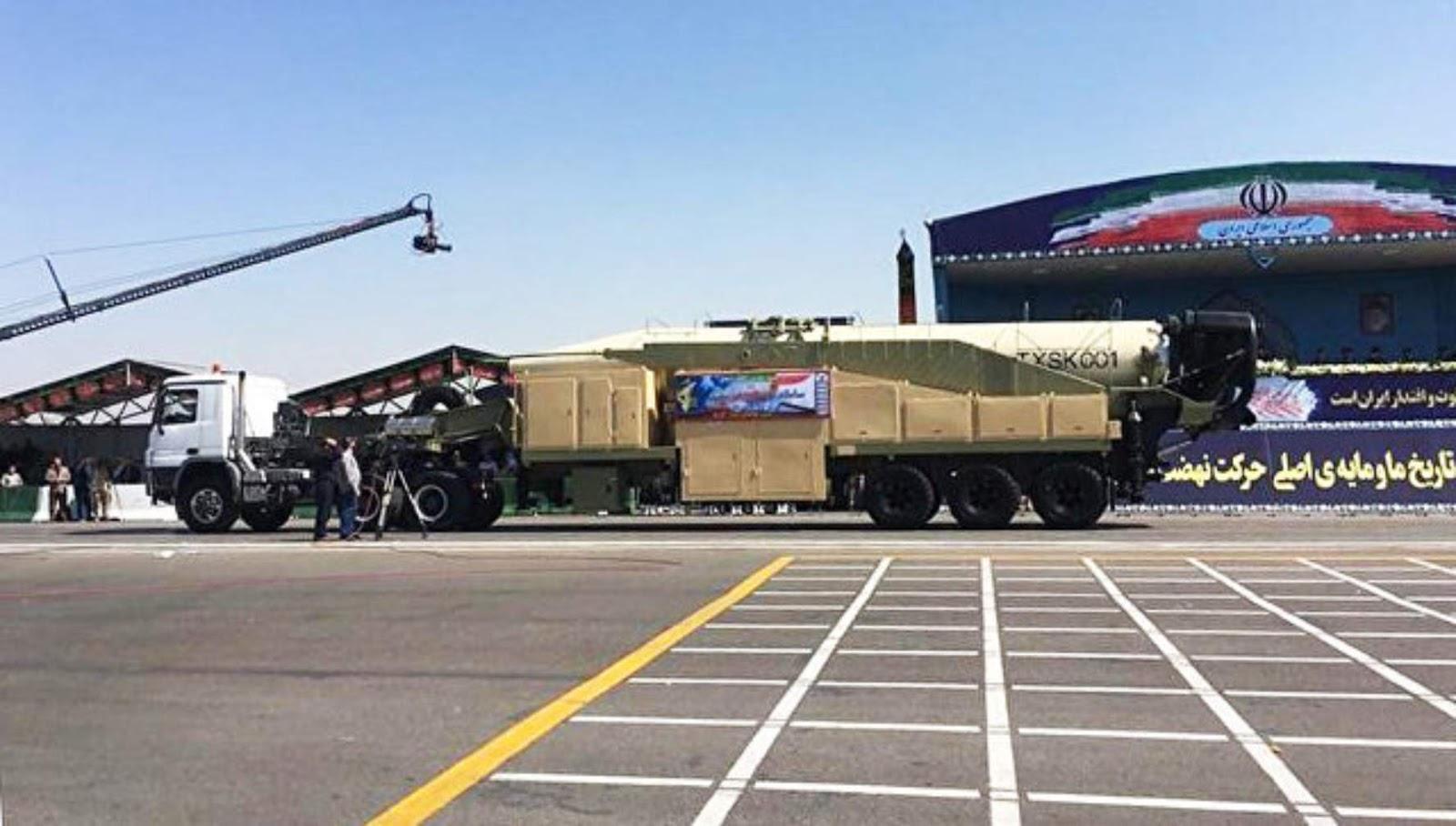Iran bisa memperluas jangkauan rudal lebih 2.000 kilometer jika di butuhkan