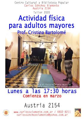 Actividad física para adultos mayores