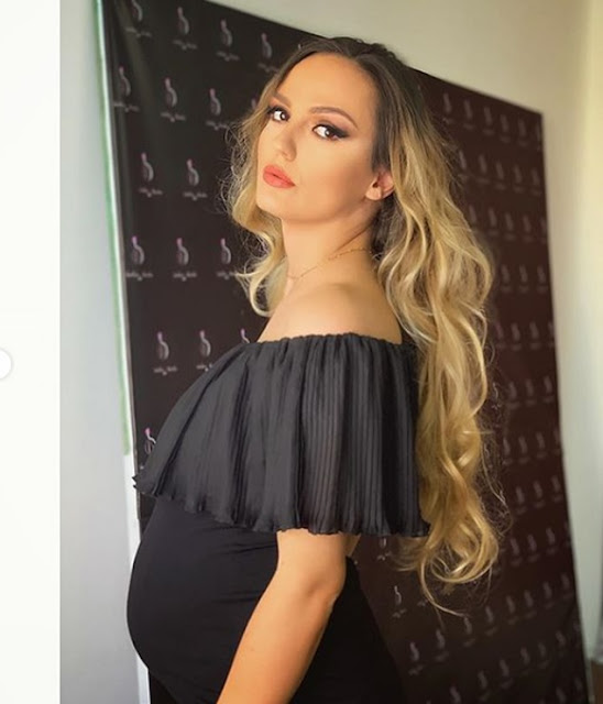 Albanian model Afroviti Goge saw in her dream the pregnancy 10 days before the test