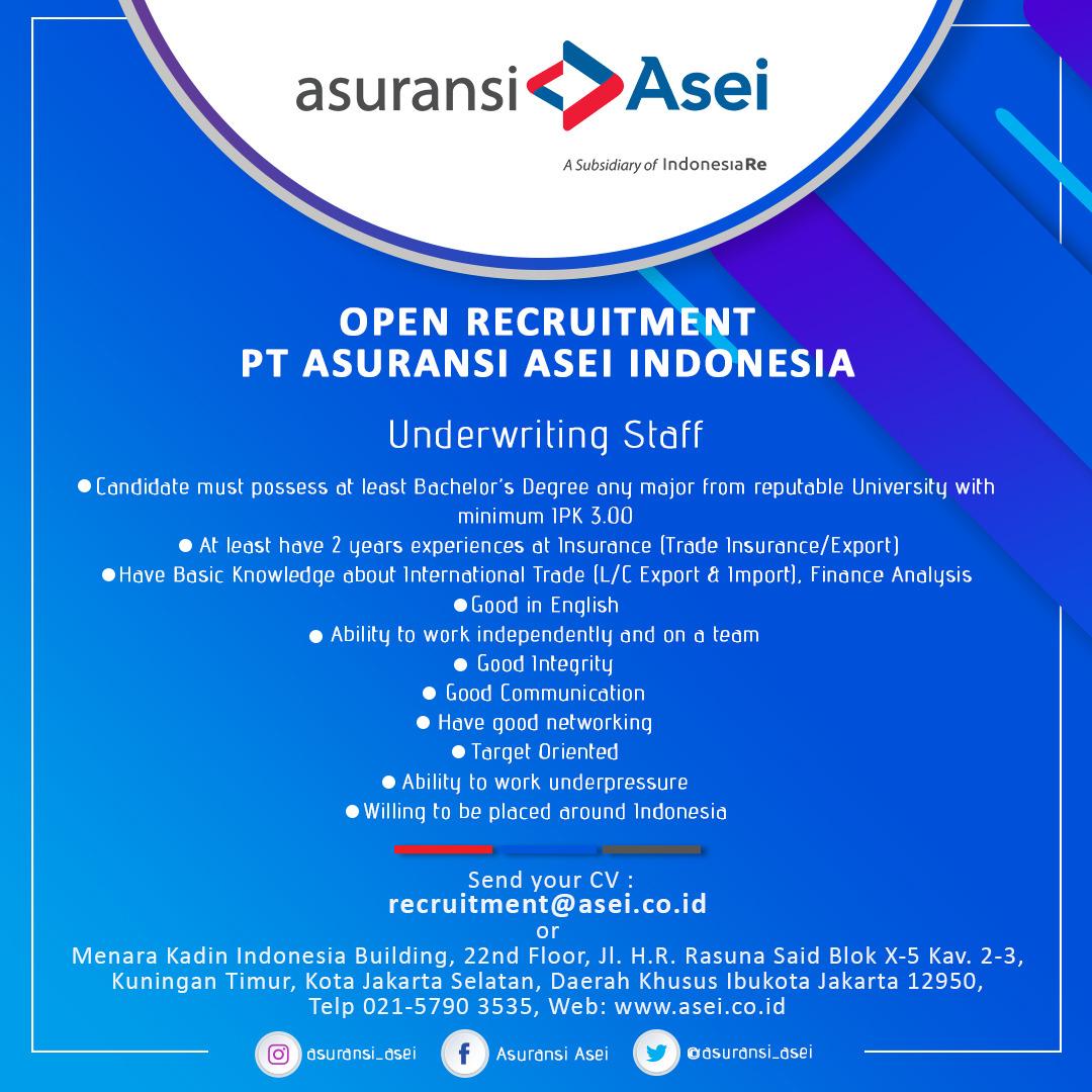 PT Asuransi Asei Indonesia Bulan
