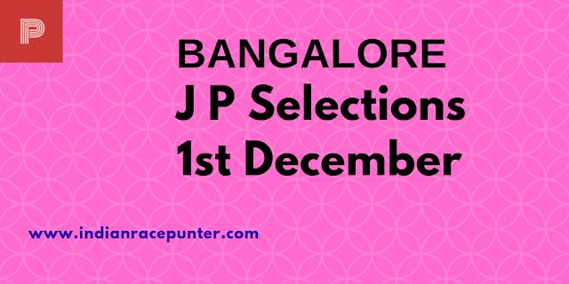 Bangalore Jackpot Selections 1st December, Trackeagle, Track eagle