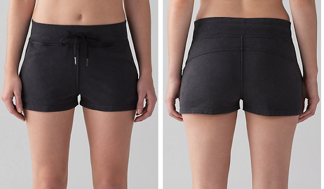 lululemon loop-back-short